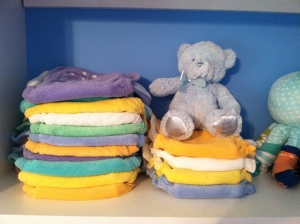 Our cloth diapers.