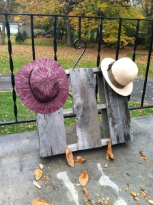And these hats, to complete any fall look.