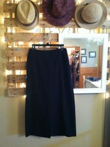 This season's hottest trend-a midi skirt.