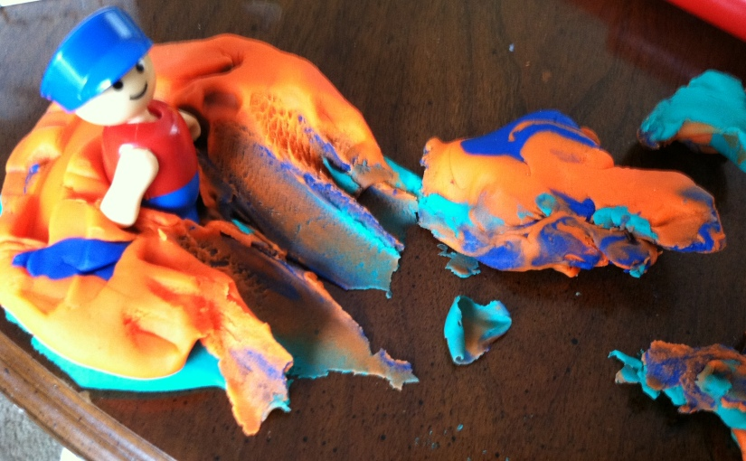 Your Kids & Your Job Are Not Your Purpose (And Other Life Lessons Learned From PlayDough)