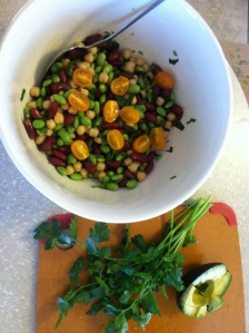 one of my favorite bean salads
