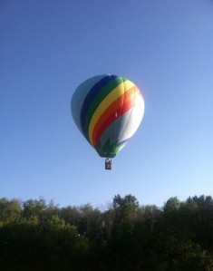 hot air balloon. Memorial Day, Hot Air Balloons and Other Things I Never Cared About Before Kids