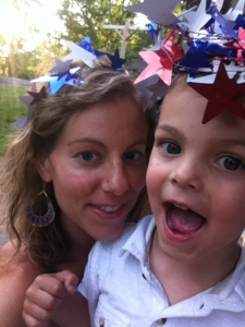 mommy and theo. Memorial Day, Hot Air Balloons and Other Things I Never Cared About Before Kids