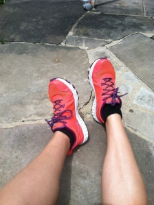 running shoes. my pregnancy workout routine