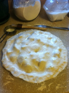 strawberry cinnamon pie. blogger bites