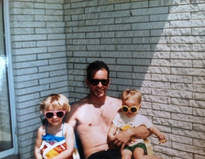 on vacation as kids. Happy Father's Day, to the Coolest dads I know!