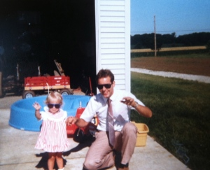 me and dad. Happy Father's Day, to the Coolest dads I know!