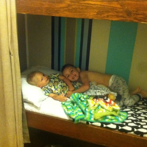 bunk mates. my vacation top 10 list