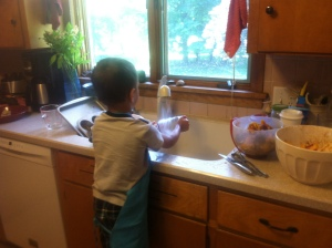 In the Kitchen With Theo