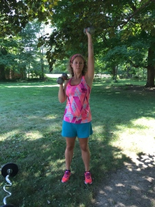 My Favorite 30 Minute Free-Weight Workout