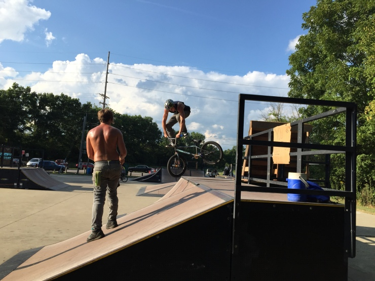 Brothers and BMX