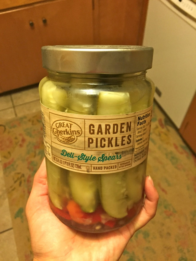I'll take all the pickles, please. No, this isn't a pregnancy cliche. I just really, really love pickles.