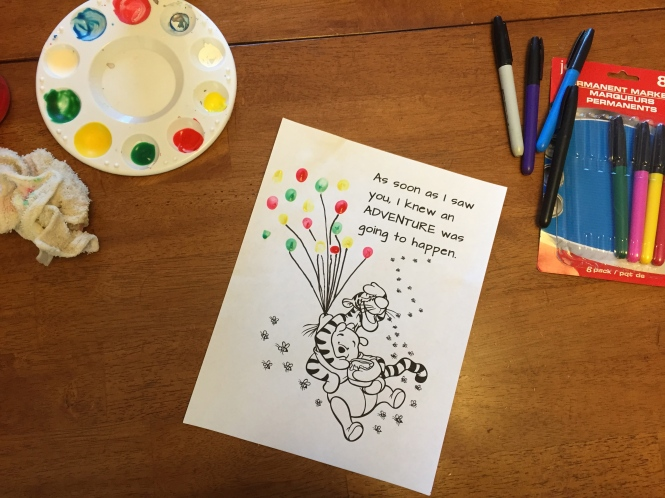 An Easy Project for Your Kids to Make For New Baby