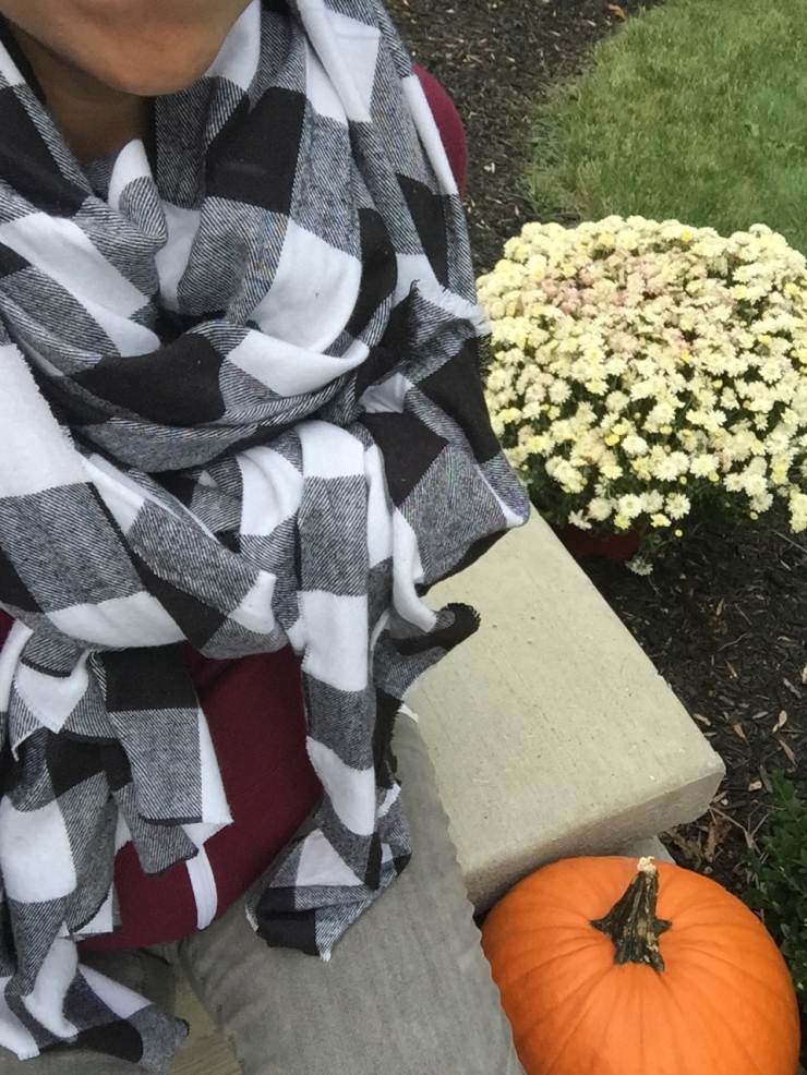 Things I Love Right Now: Blanket Scarves, Fall Trail Mix, and Pour Over Coffee