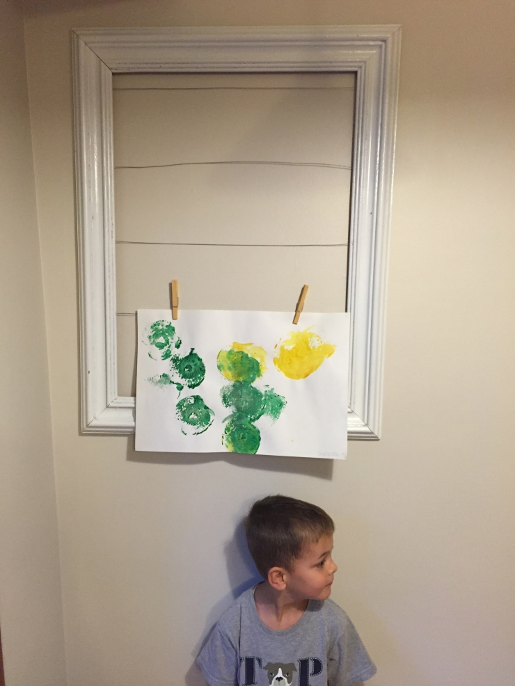 Things I Love Right Now: Preschool, Tantrums, & Husbands Who Paint