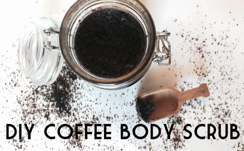 DIY Coffee BodyScrub