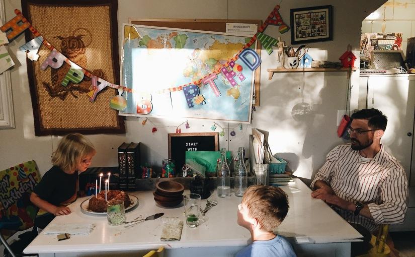 Celebrating Oliver